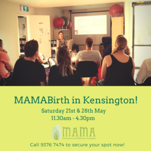 MAMABirth Education Classes – Kensington, Caulfield & Ballarat