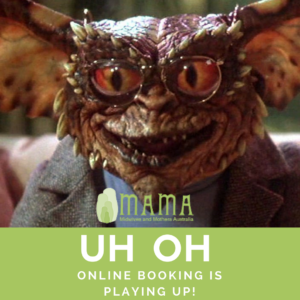 Glitches with Online Bookings