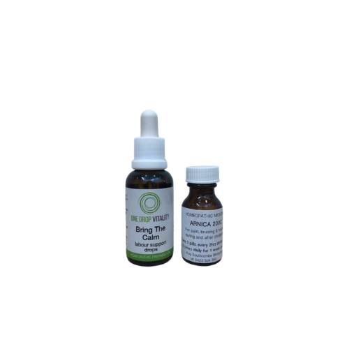 Homeopathic Birth Duo remedy