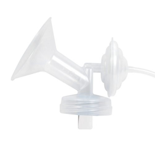 spectra breastshield for use with spectra breastpump, expressing and breastfeeding
